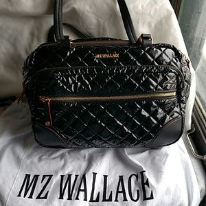 MZ Wallace Crosby black lacquer